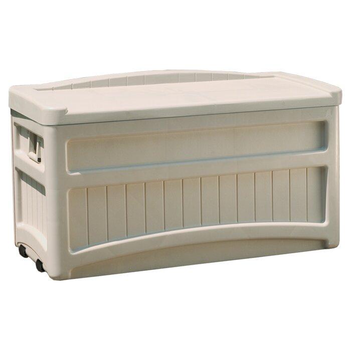 Suncast 276 Liters Plastic Storage Bench Reviews Wayfair Uk