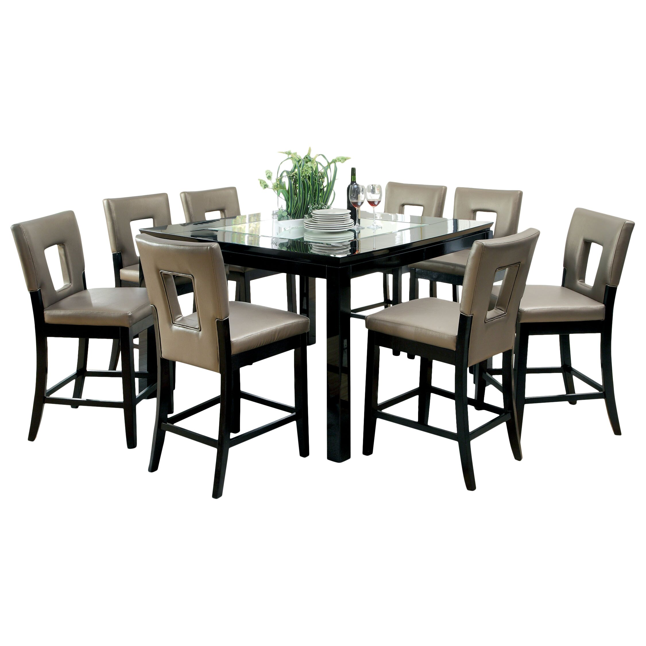 vanderbilte 3 piece counter height dining set reviews