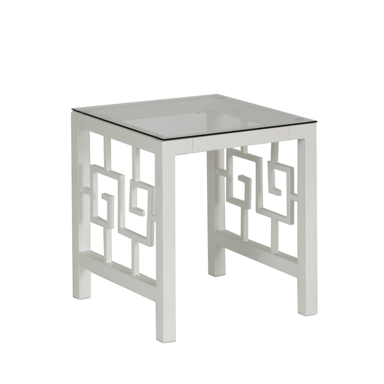 In Style Furnishings Greek Key Coffee Table Set