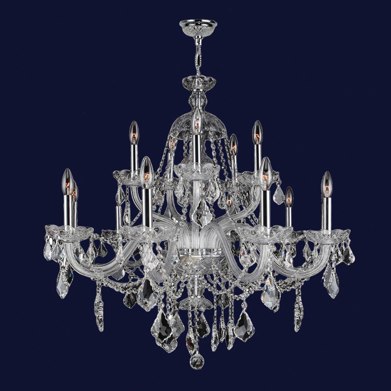 Worldwide Lighting Provence 15Light Crystal Chandelier Reviews – Crystal Chandelier Lights