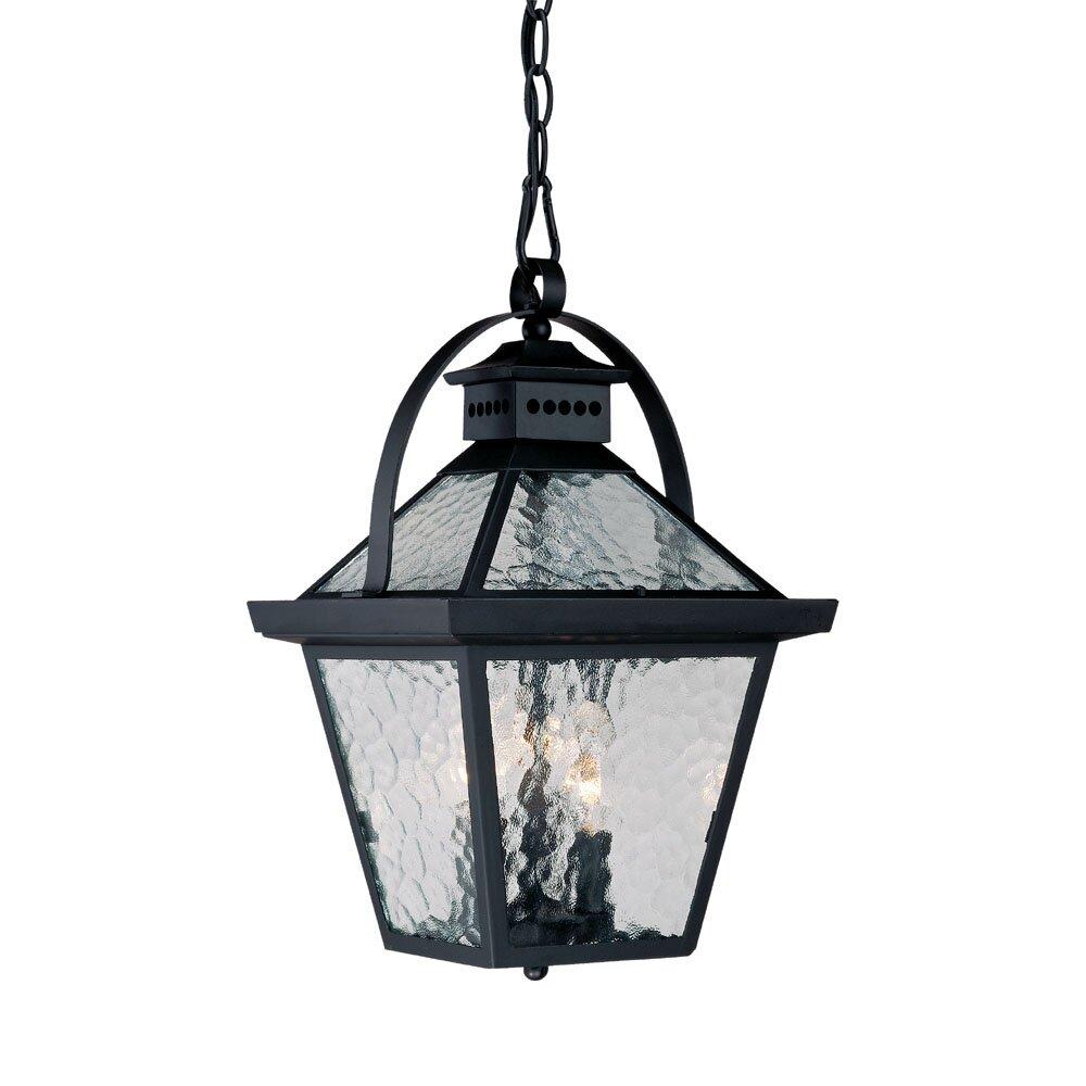 Wayfair Outdoor Hanging Lights: Acclaim Lighting Bay Street 3-Light Outdoor Hanging