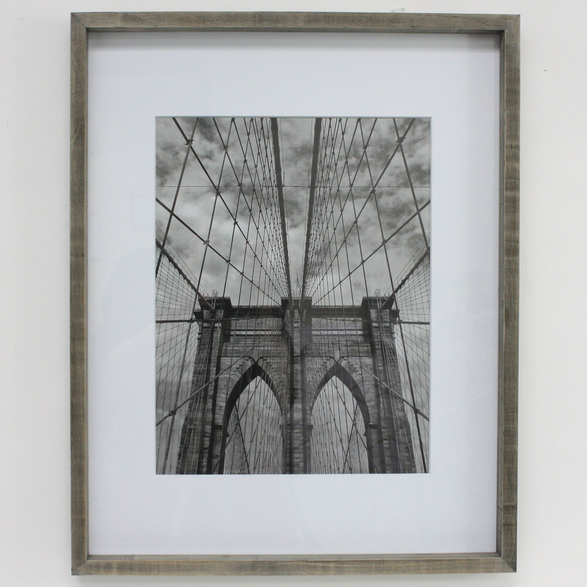 Http Www Wayfair Com Briken Distressed Frame Matted Natural Picture Frame X68500a14m Fhk2249 Html