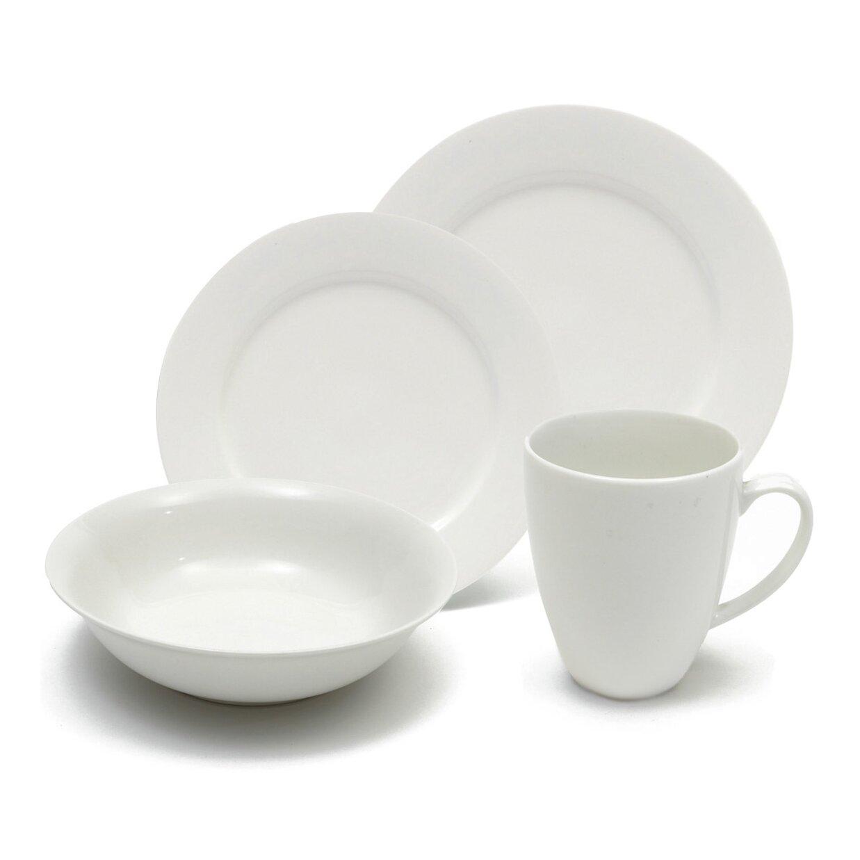 Maxwell amp williams white basics providence 16 piece dinnerware set
