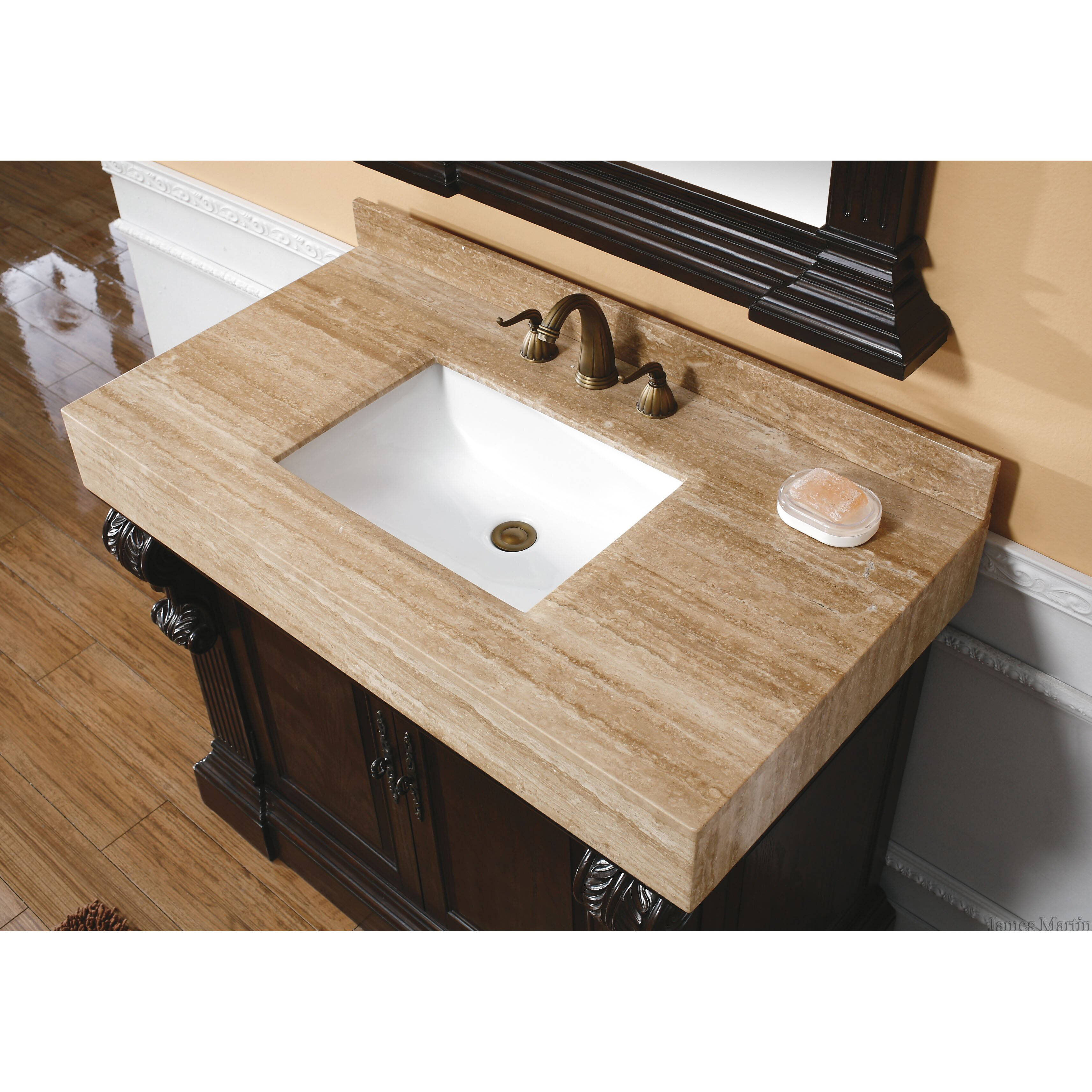 42 Bathroom Vanity James Martin Furniture Toscano 42 Single Cherry Bathroom Vanity