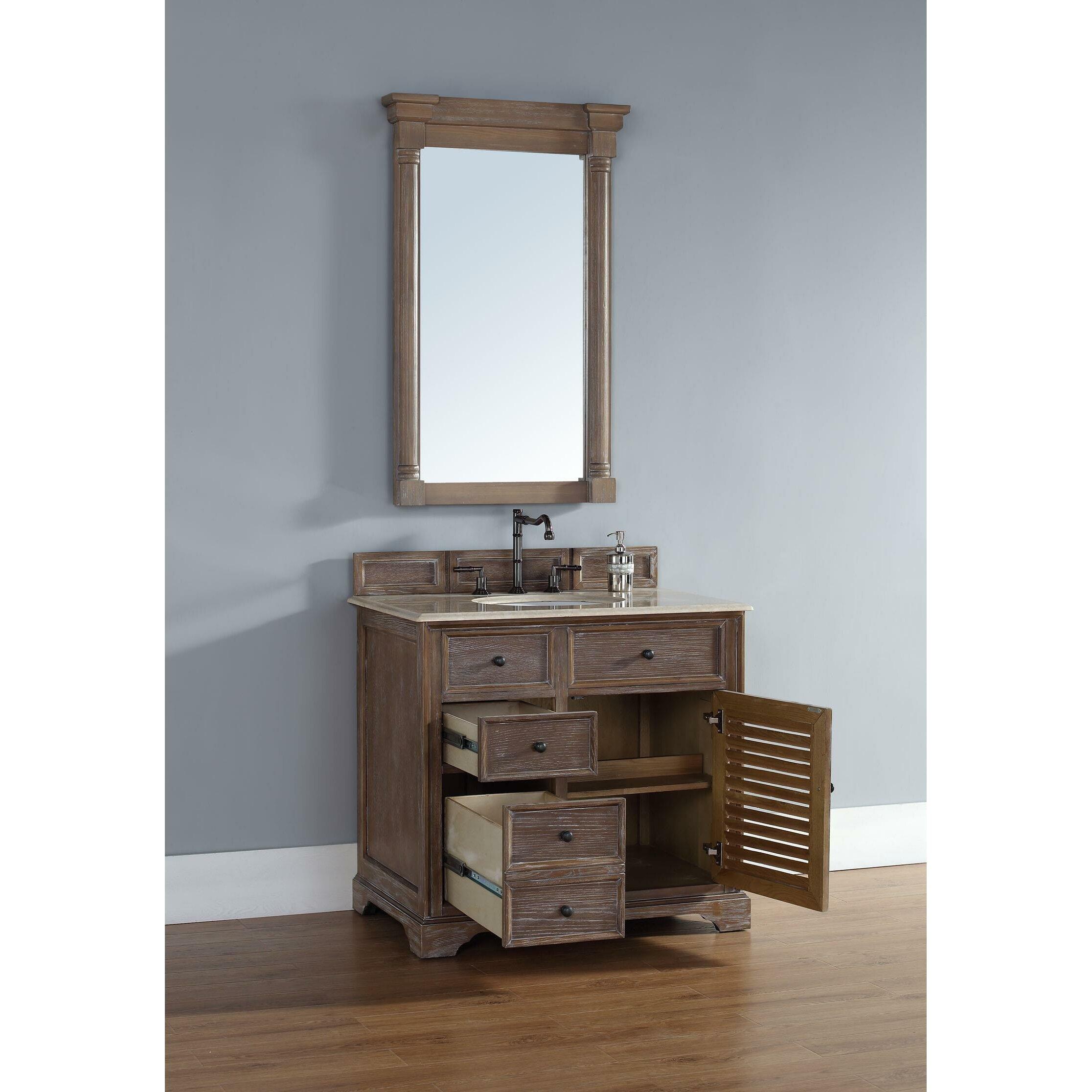 Bathroom Vanity Base James Martin Furniture Savannah 36 Single Bathroom Vanity Base