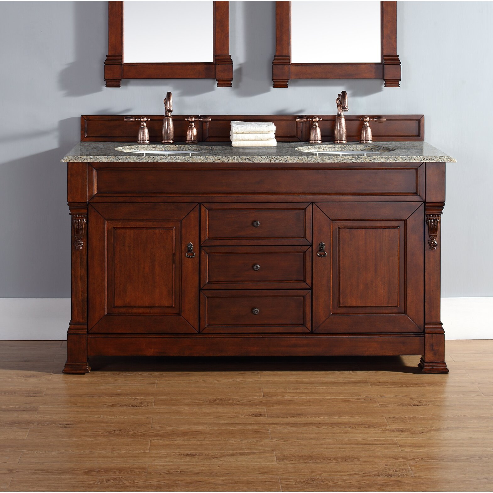 "James Martin Furniture Brookfield 60"" Double Bathroom"