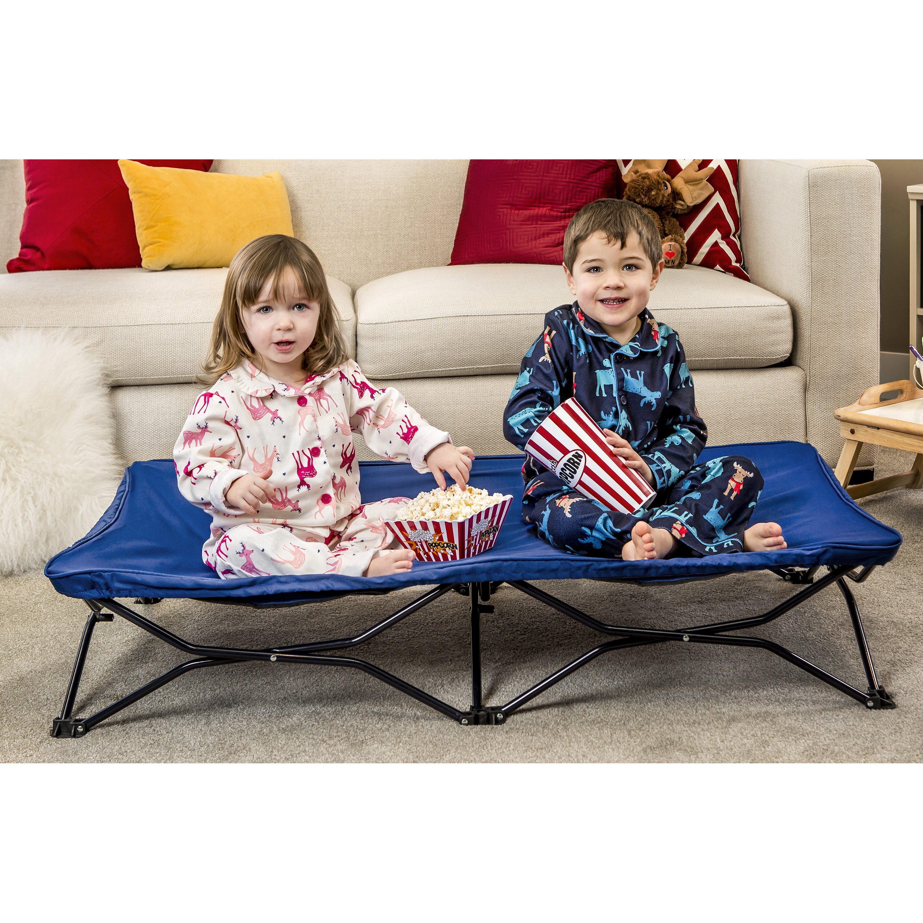 Regalo My Cot Portable Toddler Bed Amp Reviews Wayfair