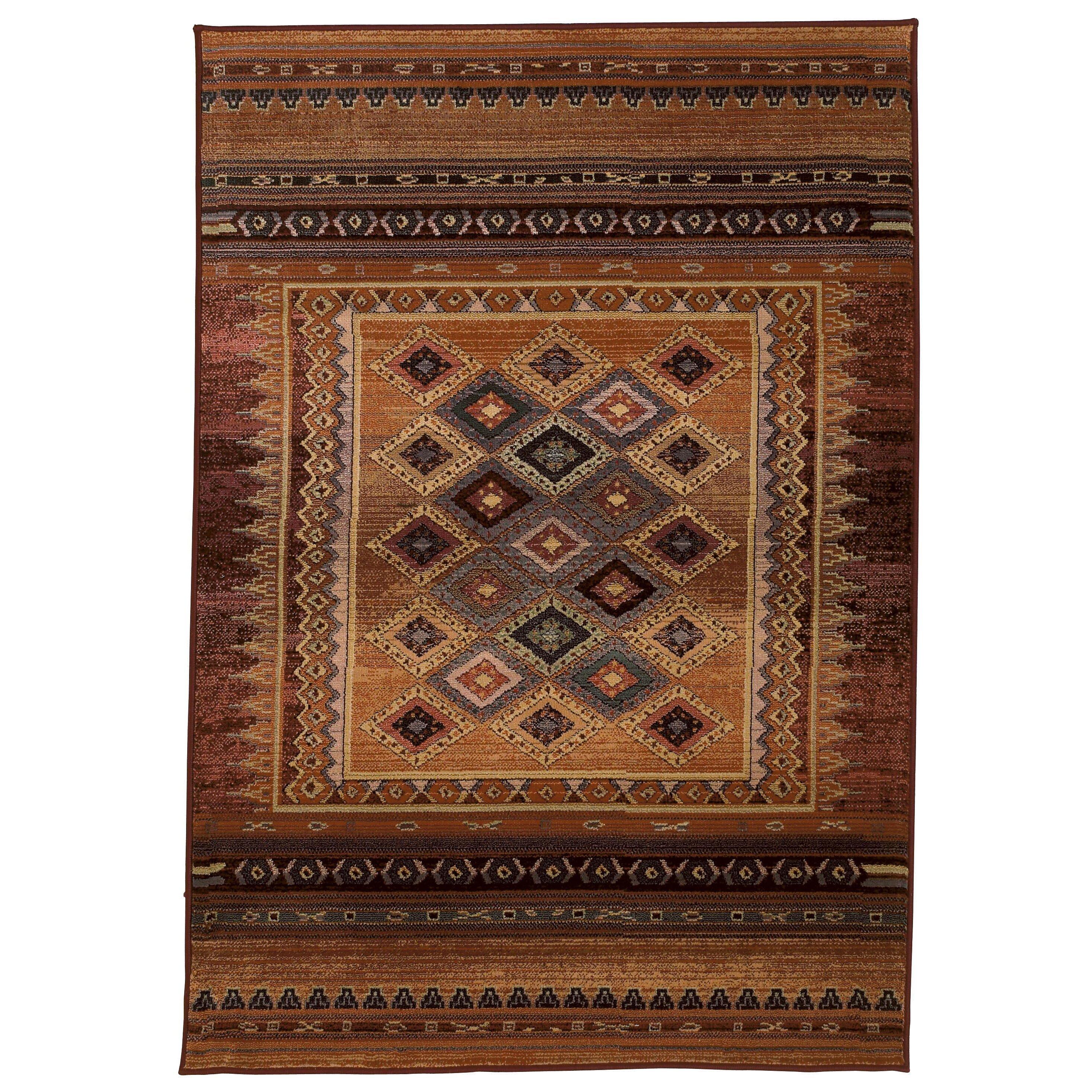 brook lane rugs gabbeh brown indoor outdoor area rug. Black Bedroom Furniture Sets. Home Design Ideas