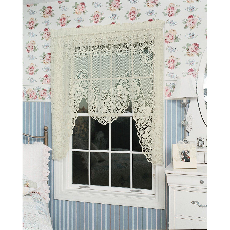 Lace Swag Valance Curtains Silimci Decor