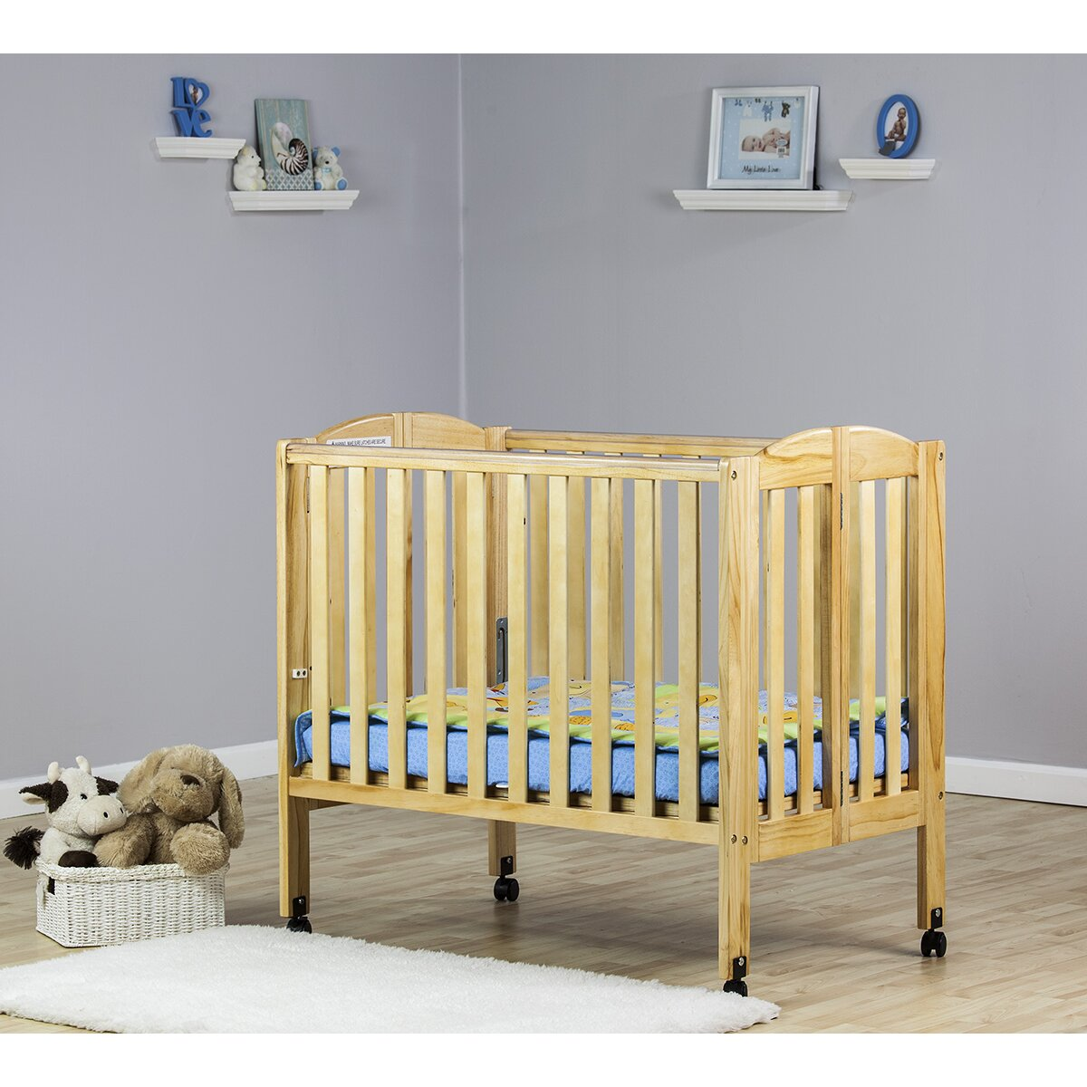 Ellery round crib for sale - Quick View