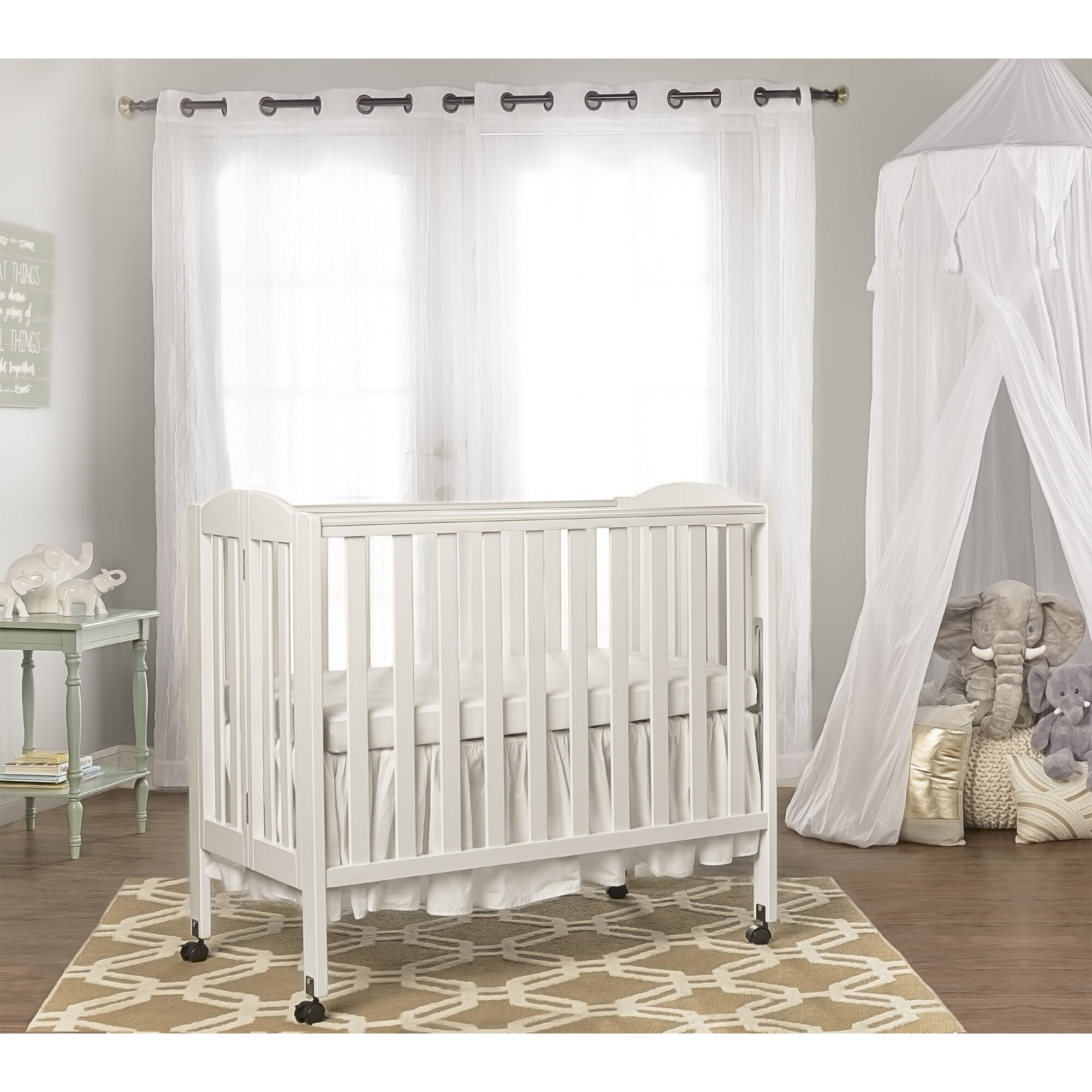Crib for sale sheffield - Dream On Me 3 In 1 Portable Convertible Folding Crib