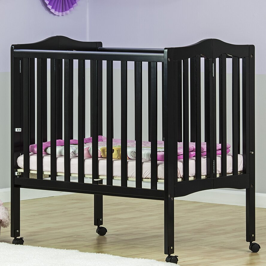 Light portable crib for babies - Dream On Me Lightweight 2 In 1 Portable Folding Crib