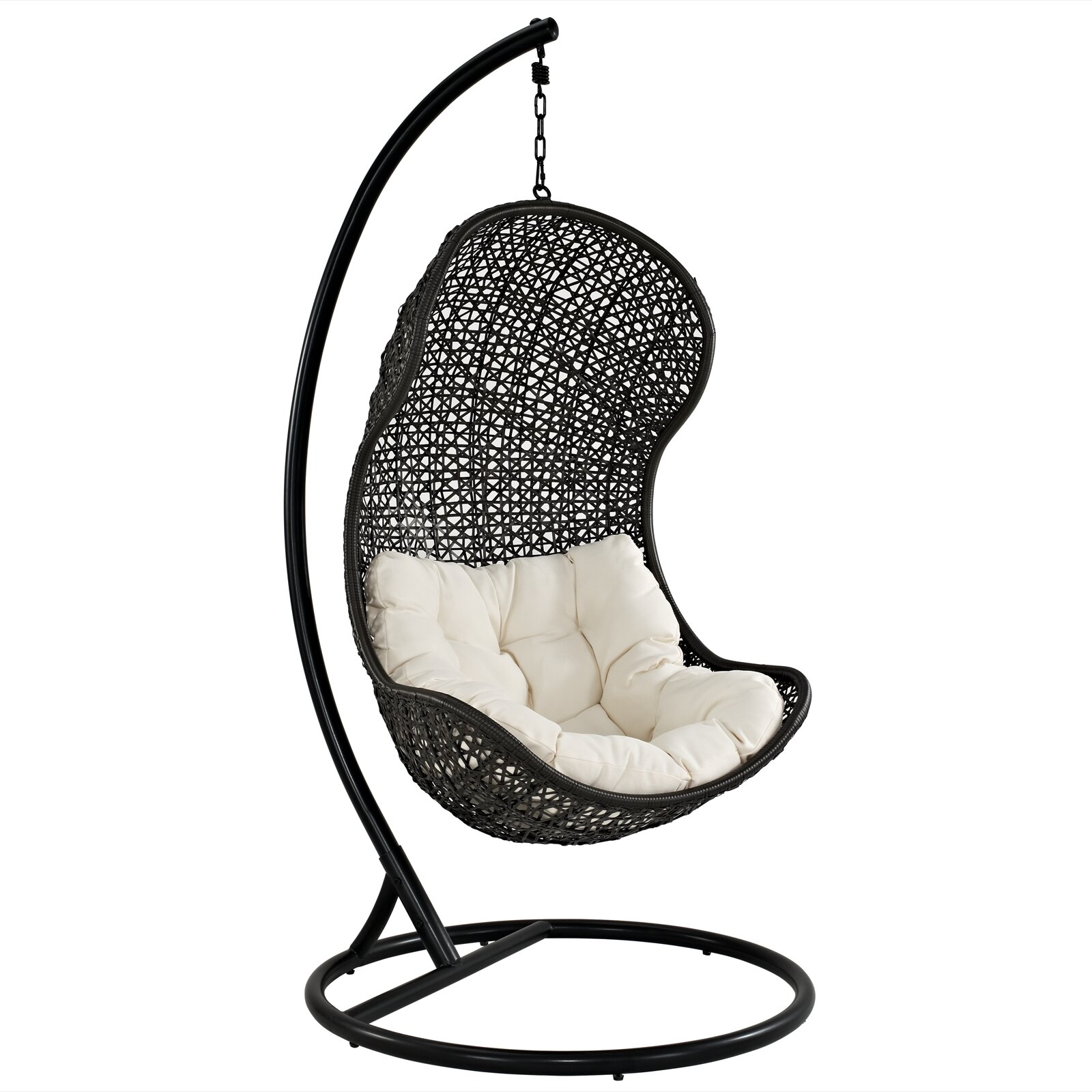 Modway Gamble Swing Chair With Stand Amp Reviews Wayfair