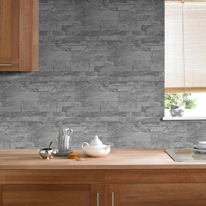 Graham brown kitchen bathroom 10m l x 53cm w stone for Wayfair bathroom wallpaper