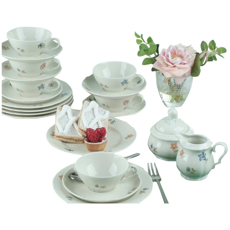 seltmann weiden marie luise 20 piece tea set reviews. Black Bedroom Furniture Sets. Home Design Ideas