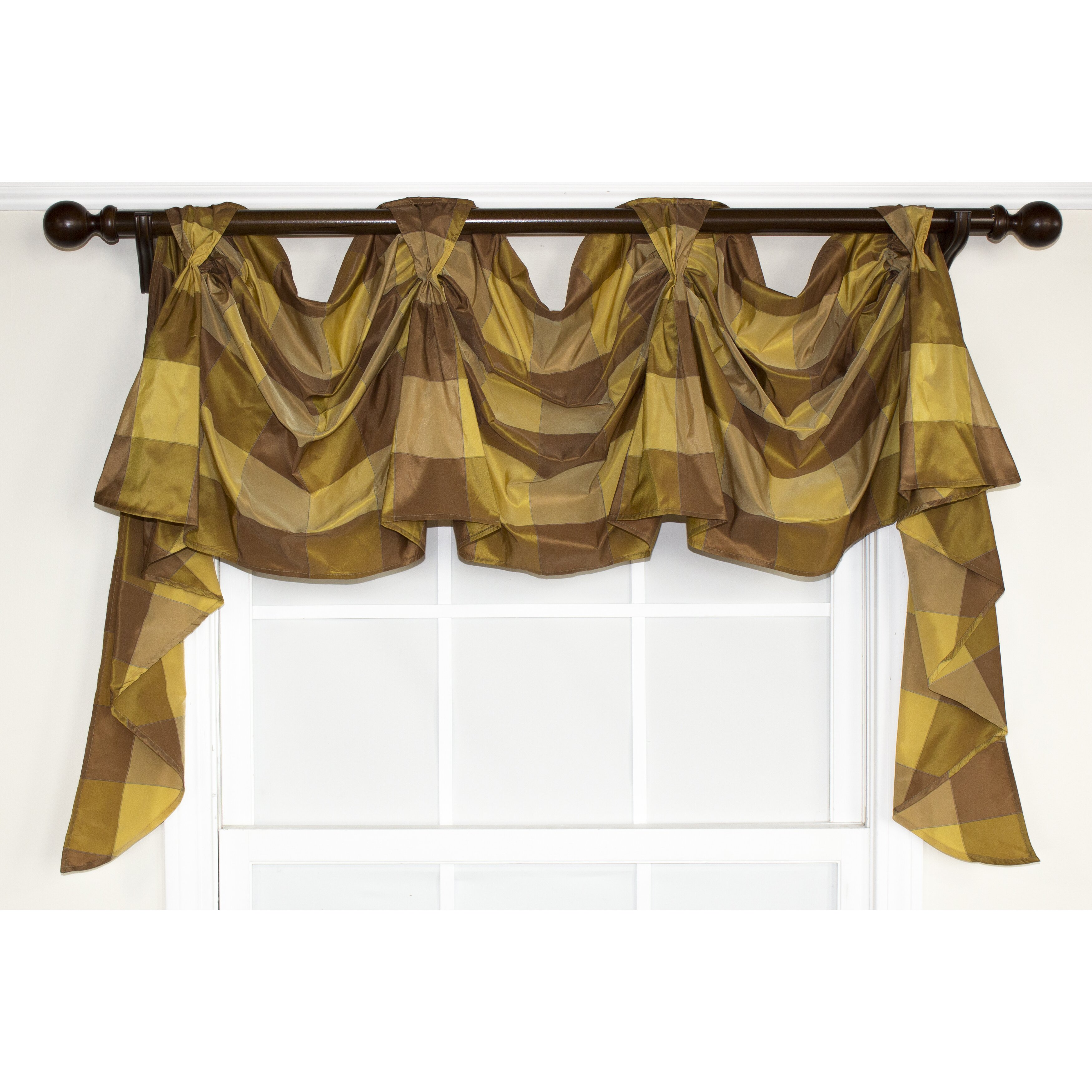 RLF Home So Square Victory Swag Curtain Valance & Reviews