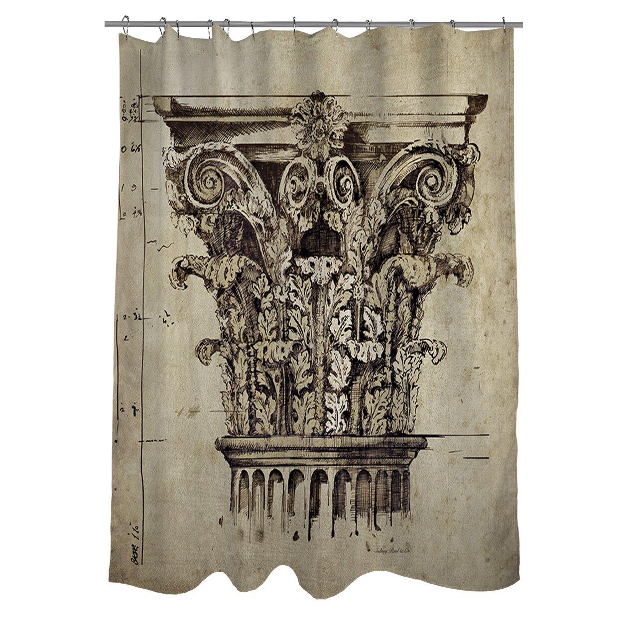 Manual woodworkers amp weavers column ii shower curtain amp reviews