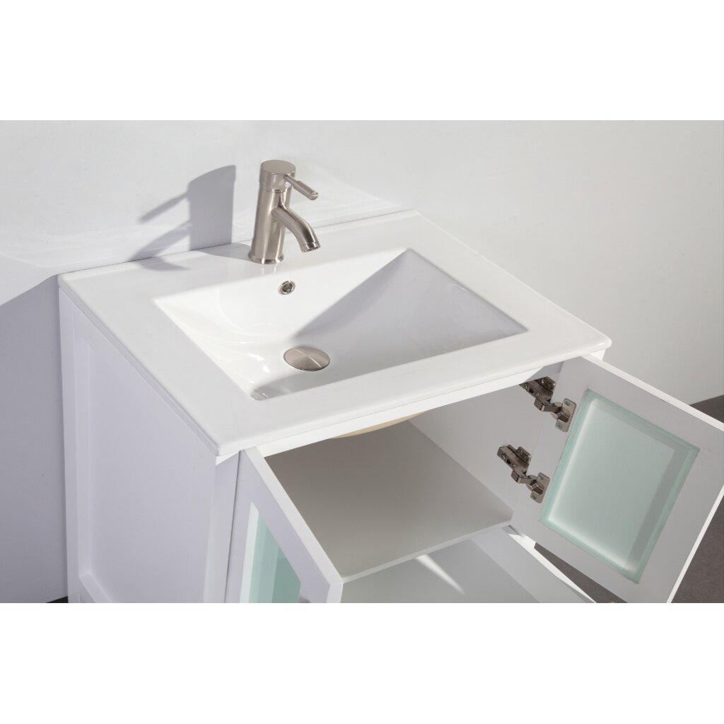Legion Bathroom Vanity Legion Furniture 30 Single Bathroom Vanity Set With Mirror