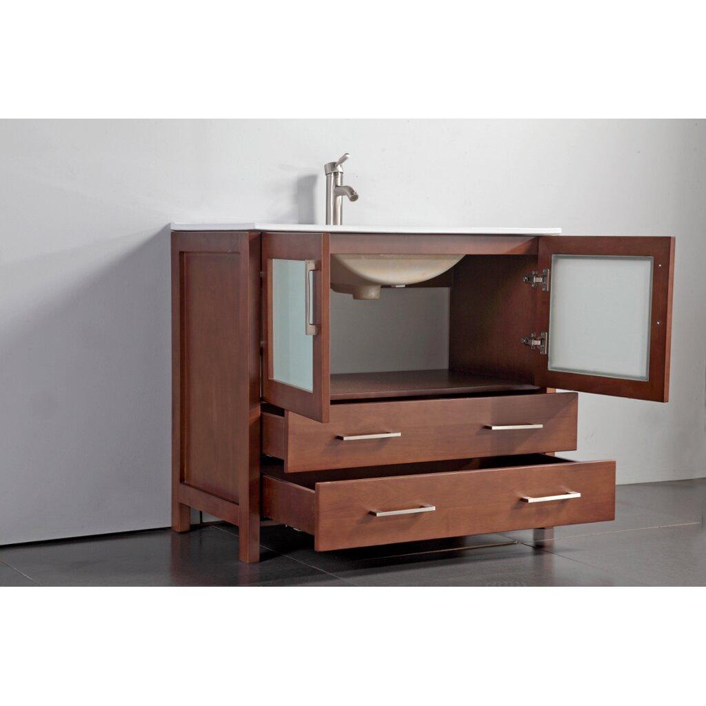 Legion Bathroom Vanity Legion Furniture 36 Single Bathroom Vanity Set With Mirror