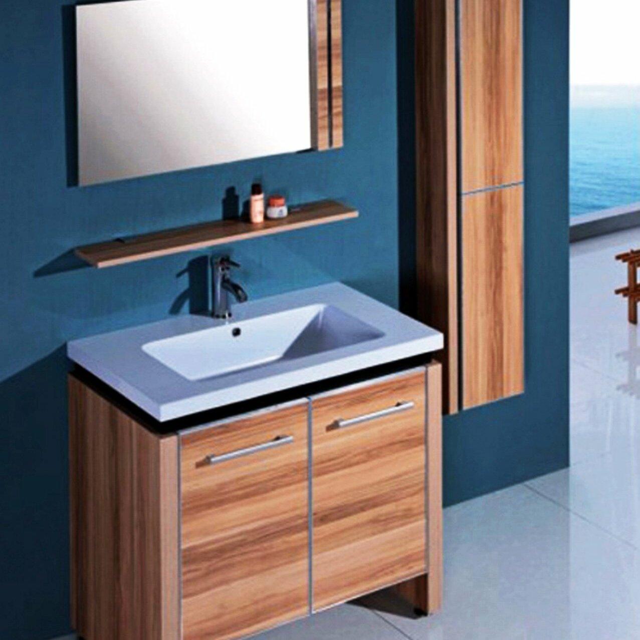 Legion Bathroom Vanity Legion Furniture 31 Single Bathroom Vanity Set With Mirror And