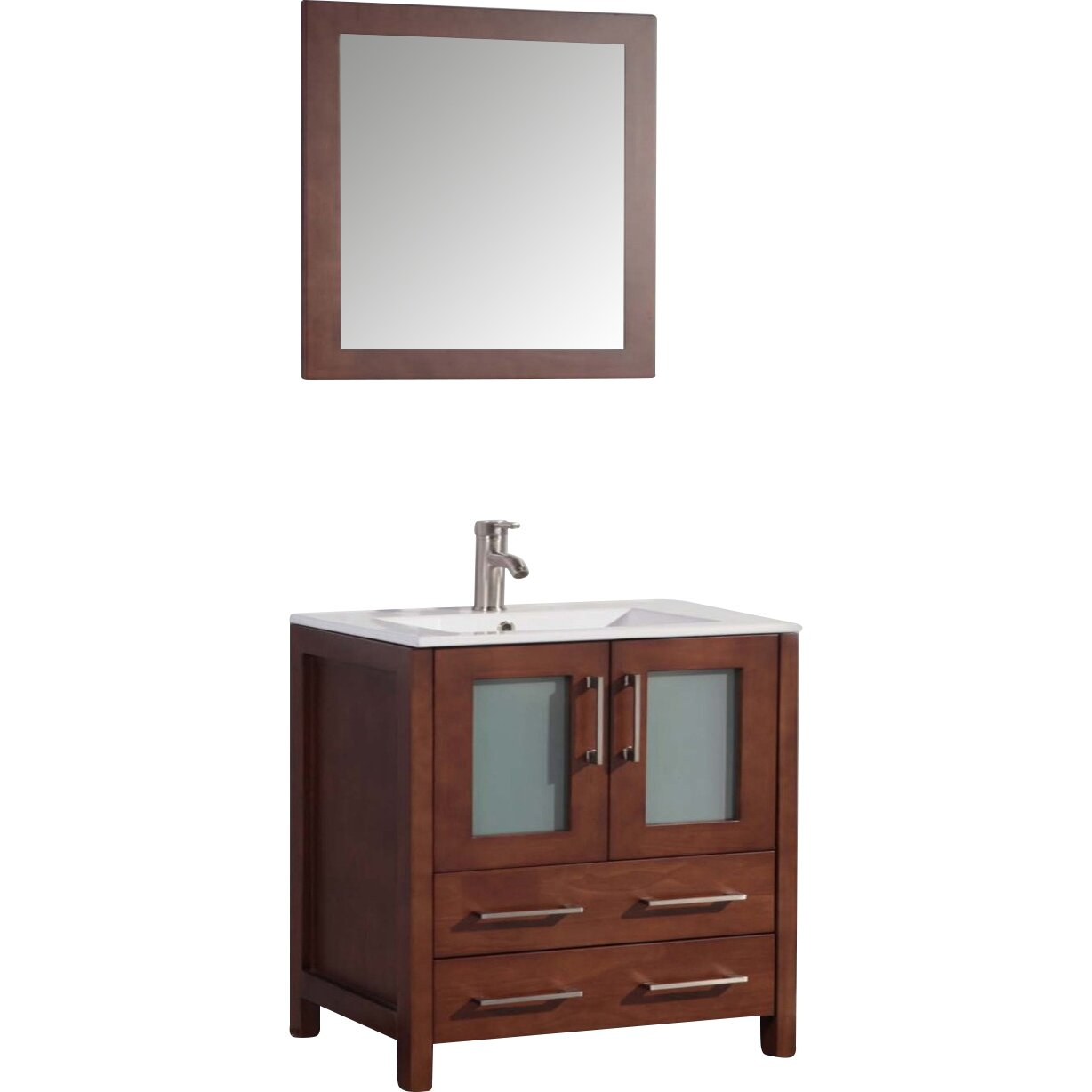 Legion furniture 30 single bathroom vanity set with - Wayfair furniture bathroom vanities ...