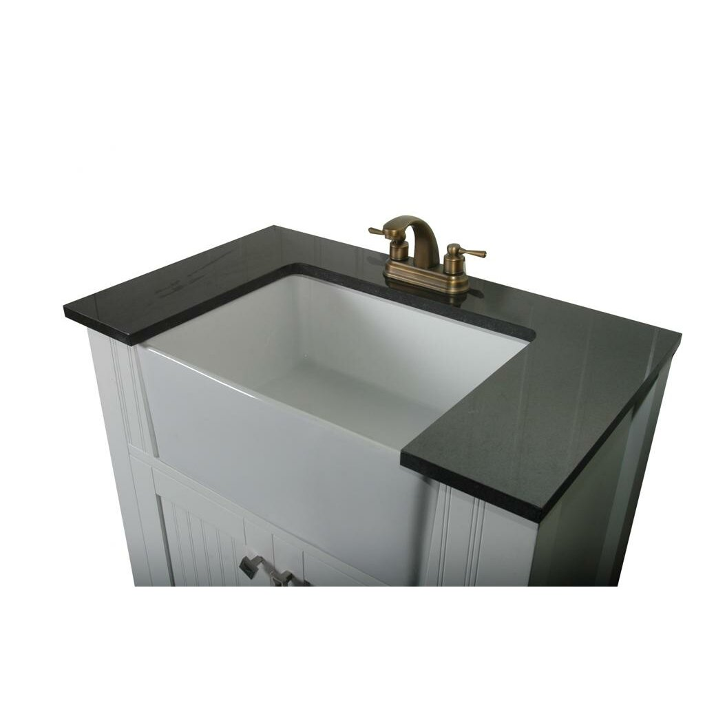 Legion Bathroom Vanity Legion Furniture 30 Single Bathroom Vanity Set Reviews Wayfair