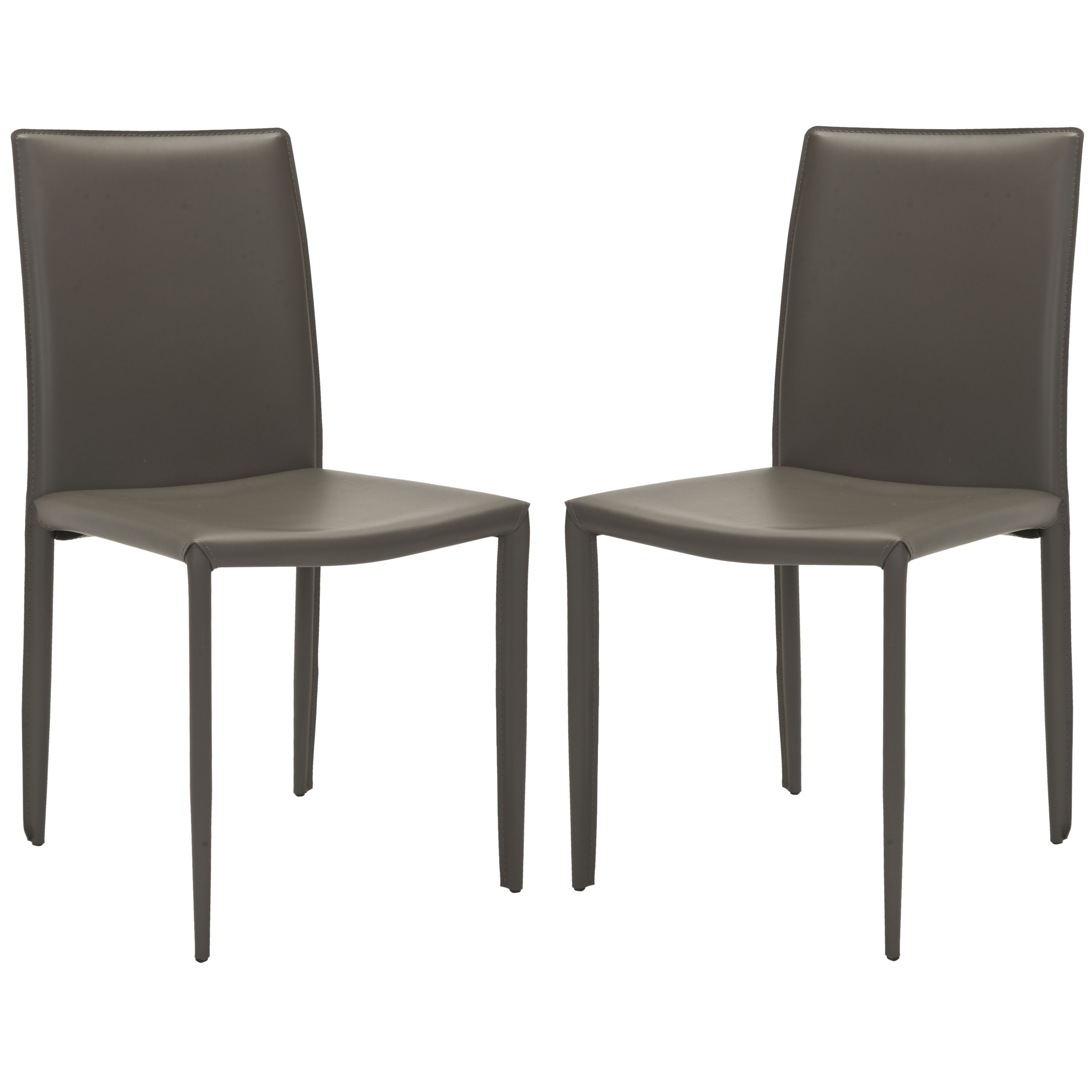 safavieh leather upholstered dining chair reviews