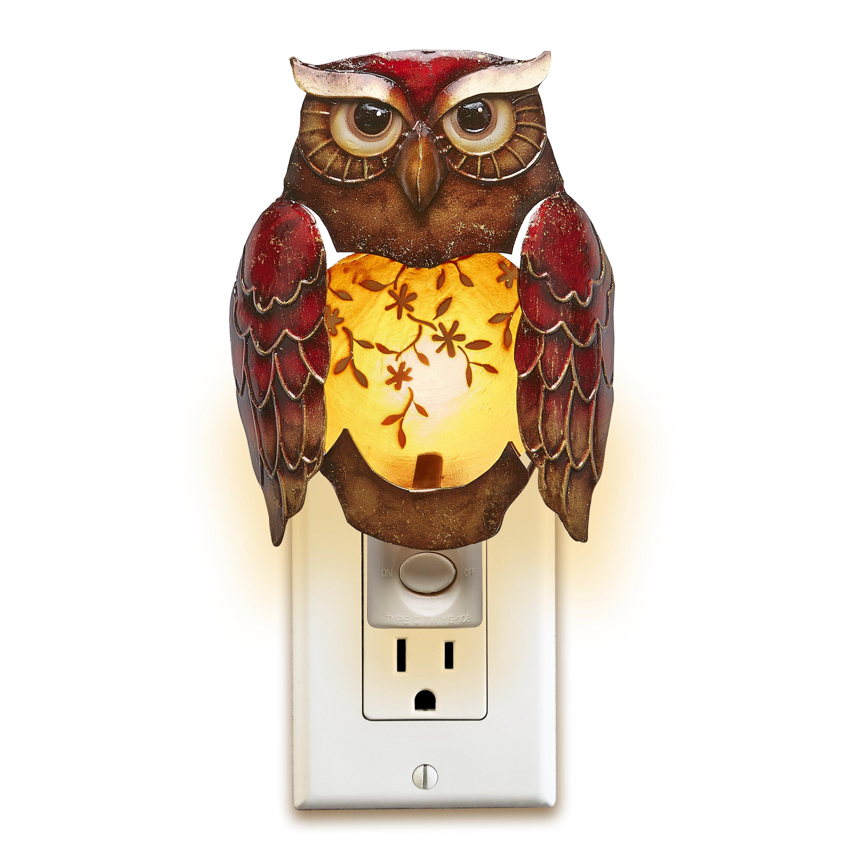 Victorian night lamps - Decor Owl Night Light