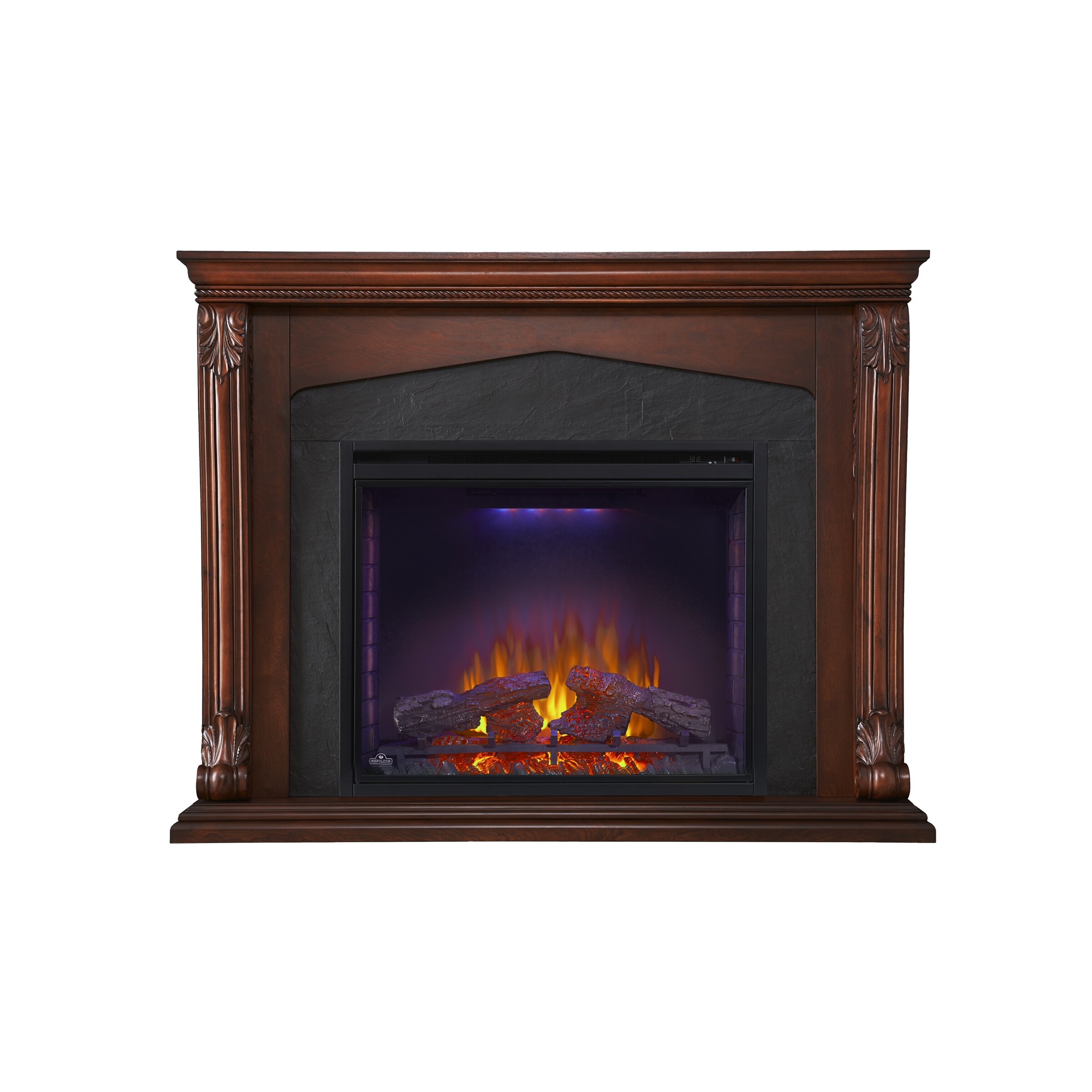 napoleon surround mantel electric fireplace