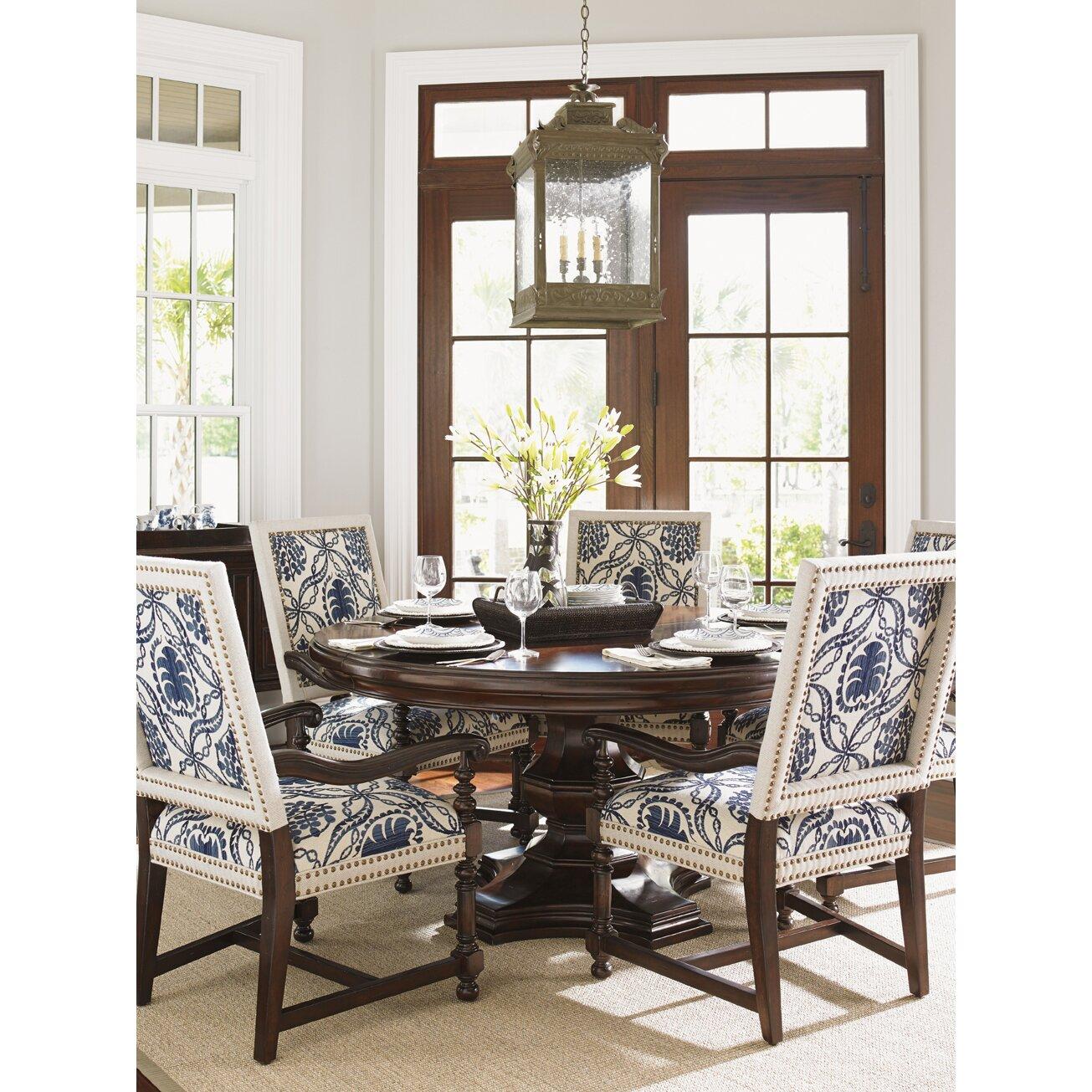 lexington dining room table   Lexington Kilimanjaro Extendable Dining Table Set   Wayfair