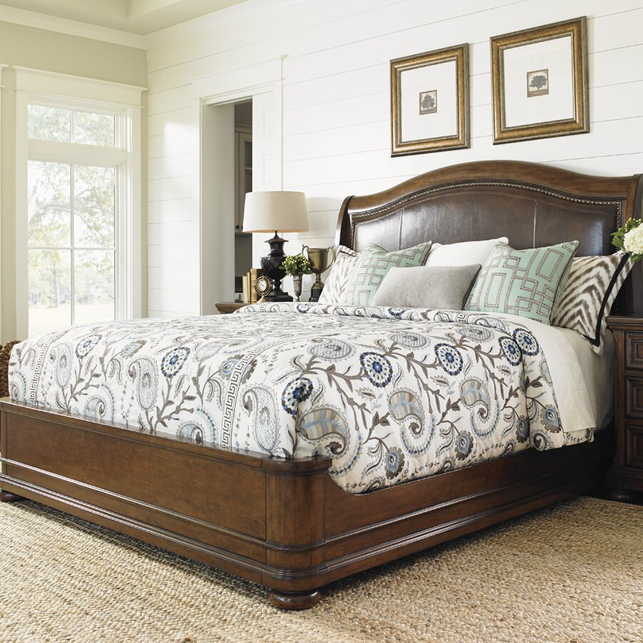 Lexington Bedroom Furniture Lexington Coventry Hills Upholstered Panel Bed Reviews Wayfair