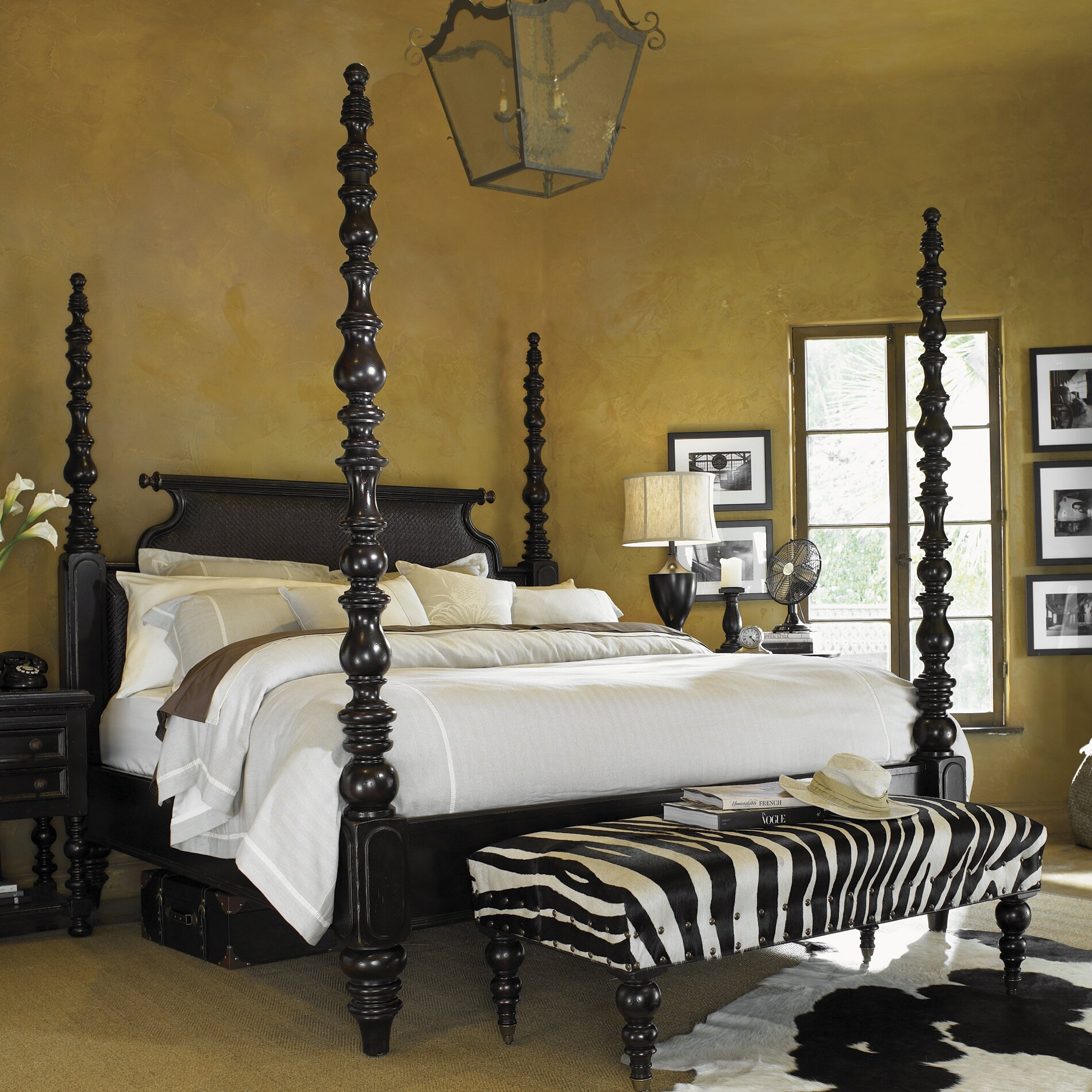 Poster Bedroom Furniture Tommy Bahama Home Kingstown Four Poster Bed Reviews Wayfair
