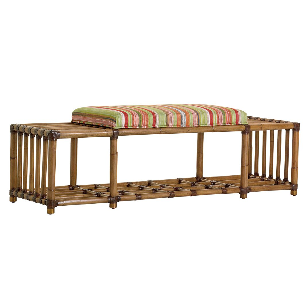Kosas Home Fabric Storage Bedroom Bench Reviews: Tommy Bahama Home Twin Palms Fabric Storage Bedroom Bench