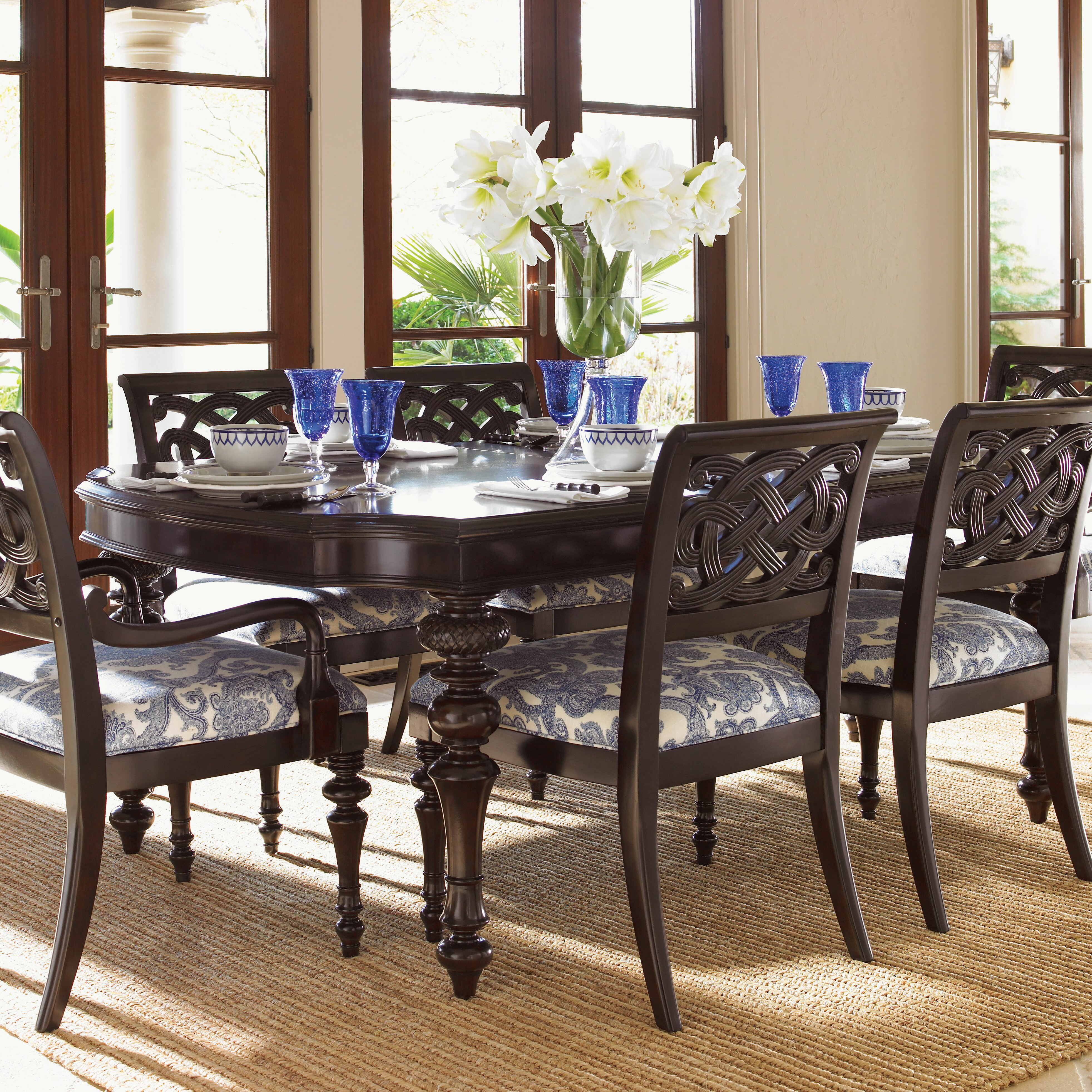 Tommy bahama home royal kahala 7 piece dining set