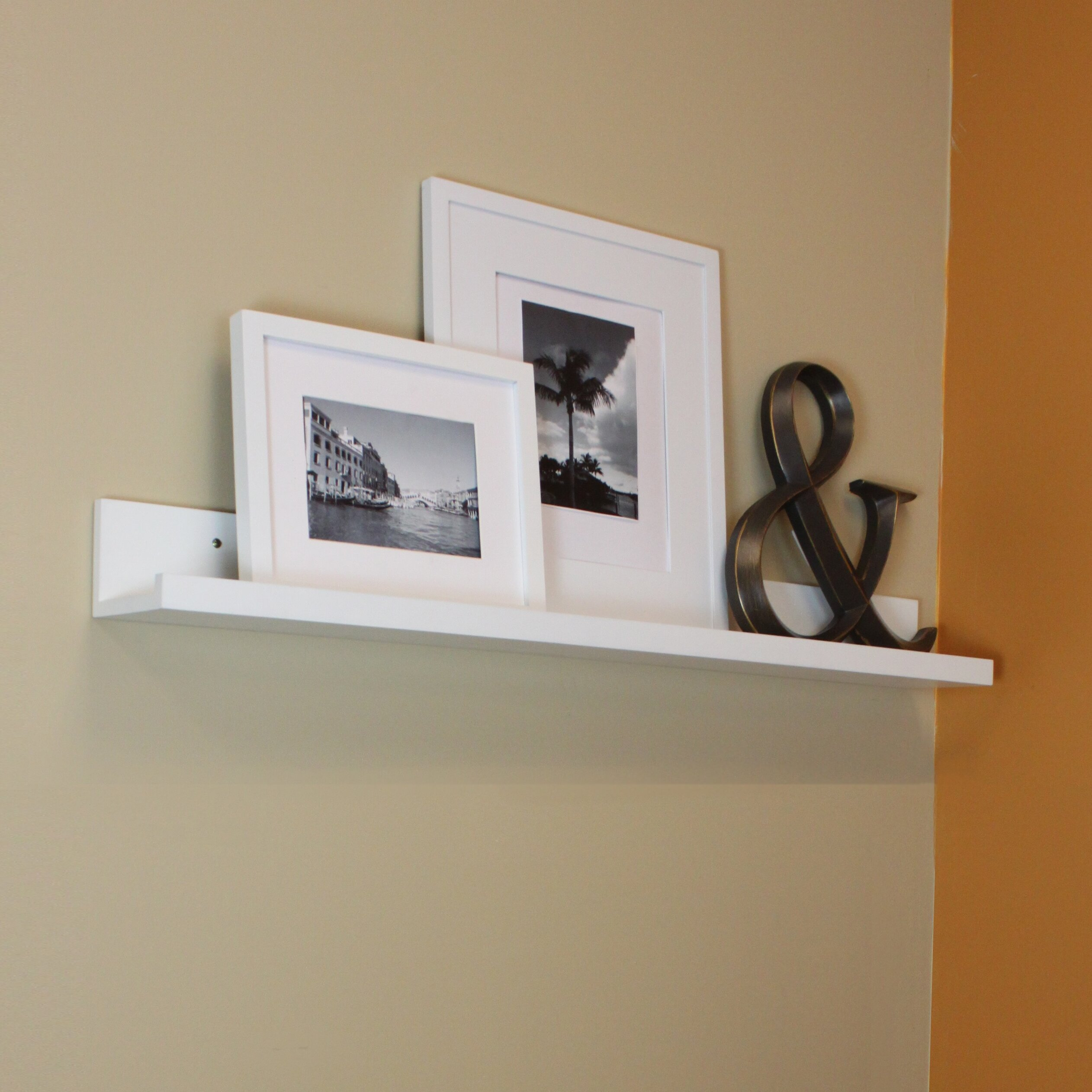 Inplace Shelving Picture Ledge Floating Wall Shelf