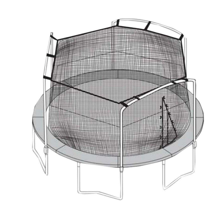 SKYBOUND 15' Trampoline Net & Reviews