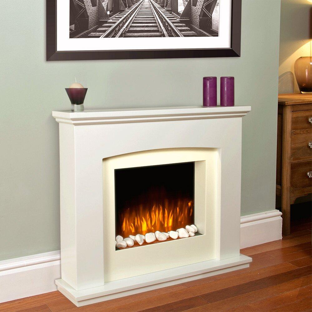MiniSun Large Free Standing LED Electric Fireplace