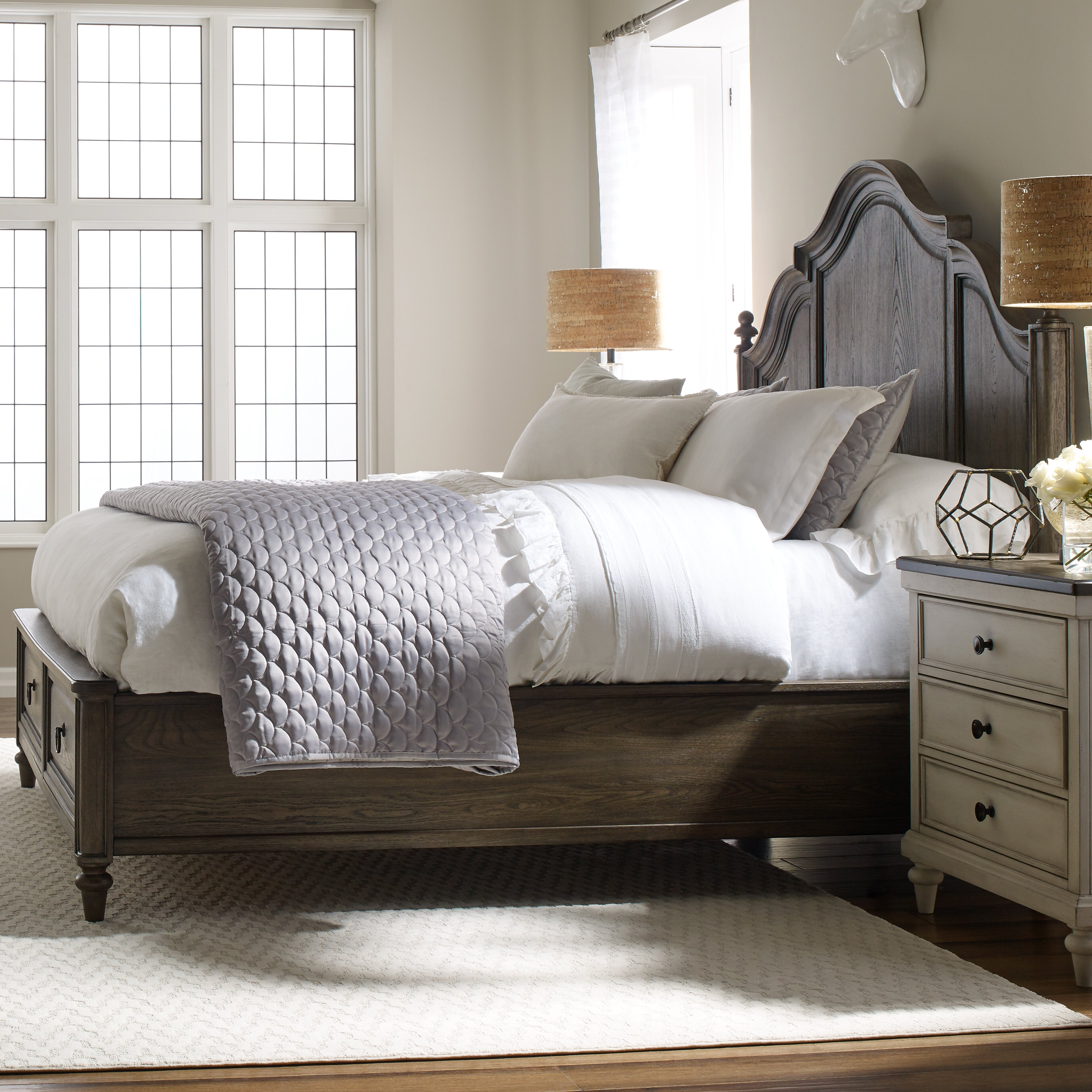 Legacy Classic Furniture Brookhaven Storage Panel Bed