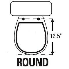 Topseat Tinyhiney Potty Round Toilet Seat Amp Reviews Wayfair