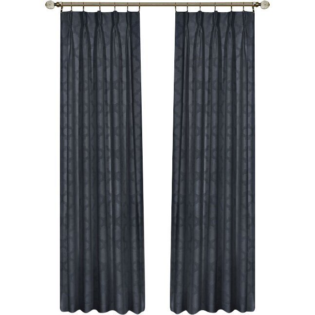 Curtains Ideas blackout pinch pleat curtains : Achim Importing Co Windsor Pinch Pleat Blackout Curtain Panel ...