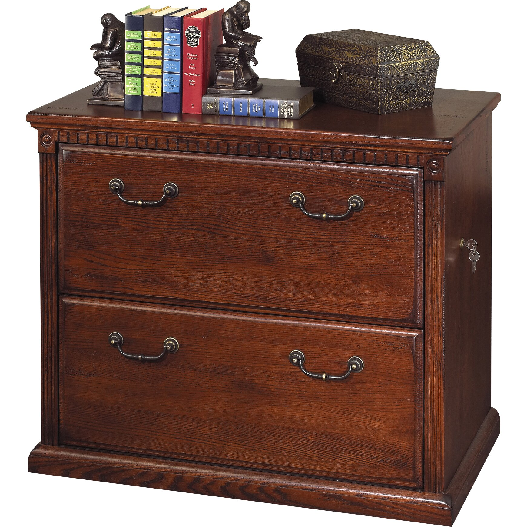 Wood Lateral File Cabinet 2 Drawer Kathy Ireland Home By Martin Furniture Huntington Oxford 2 Drawer