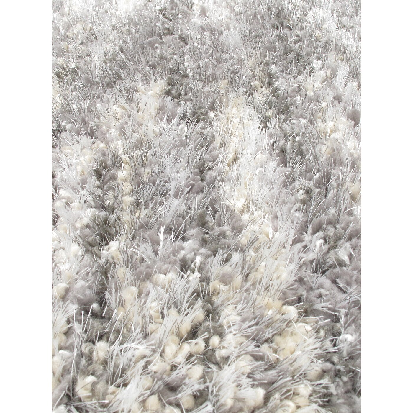yeti cream shag area rug