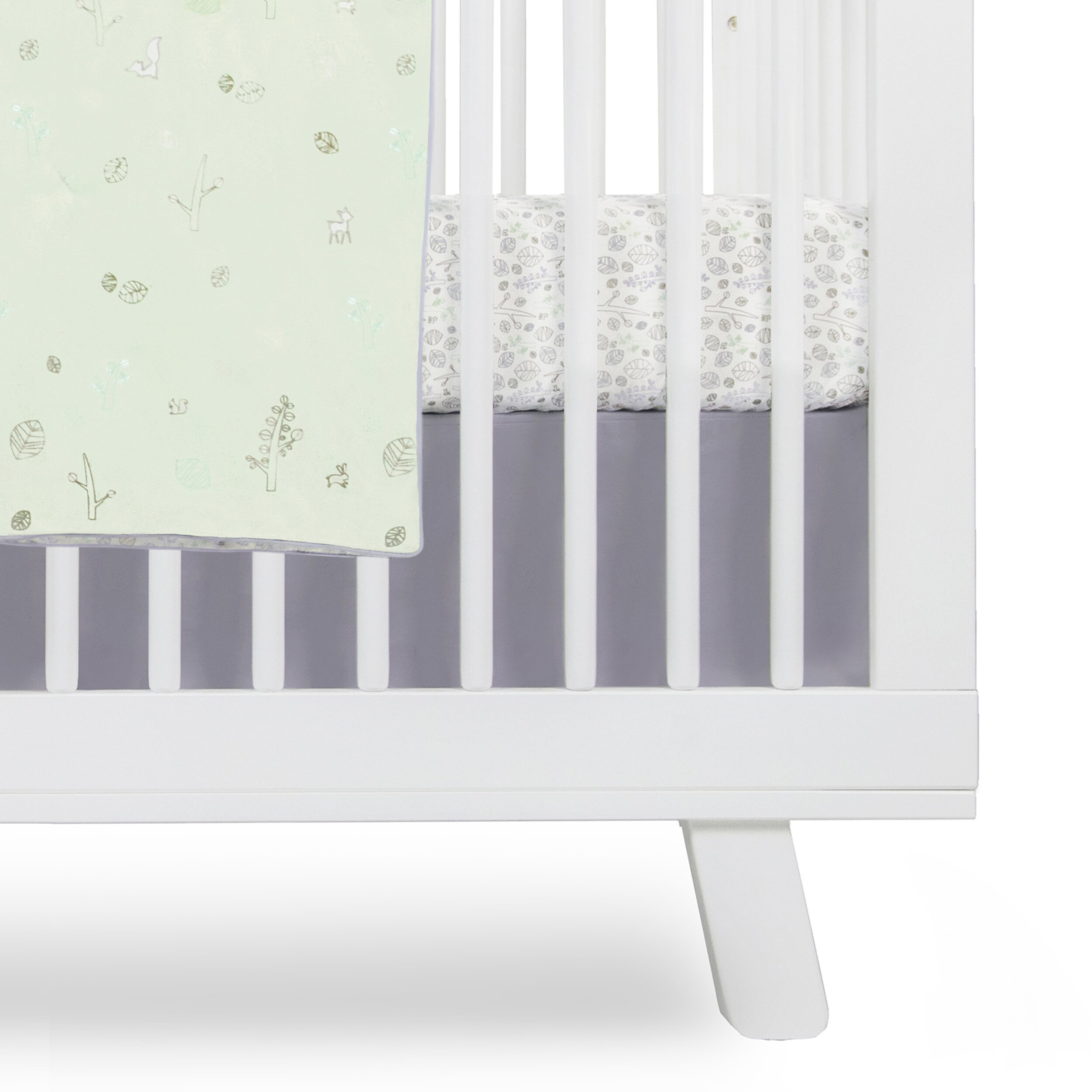 Crib for sale victoria bc - Babyletto Tranquil Woods Crib Skirt