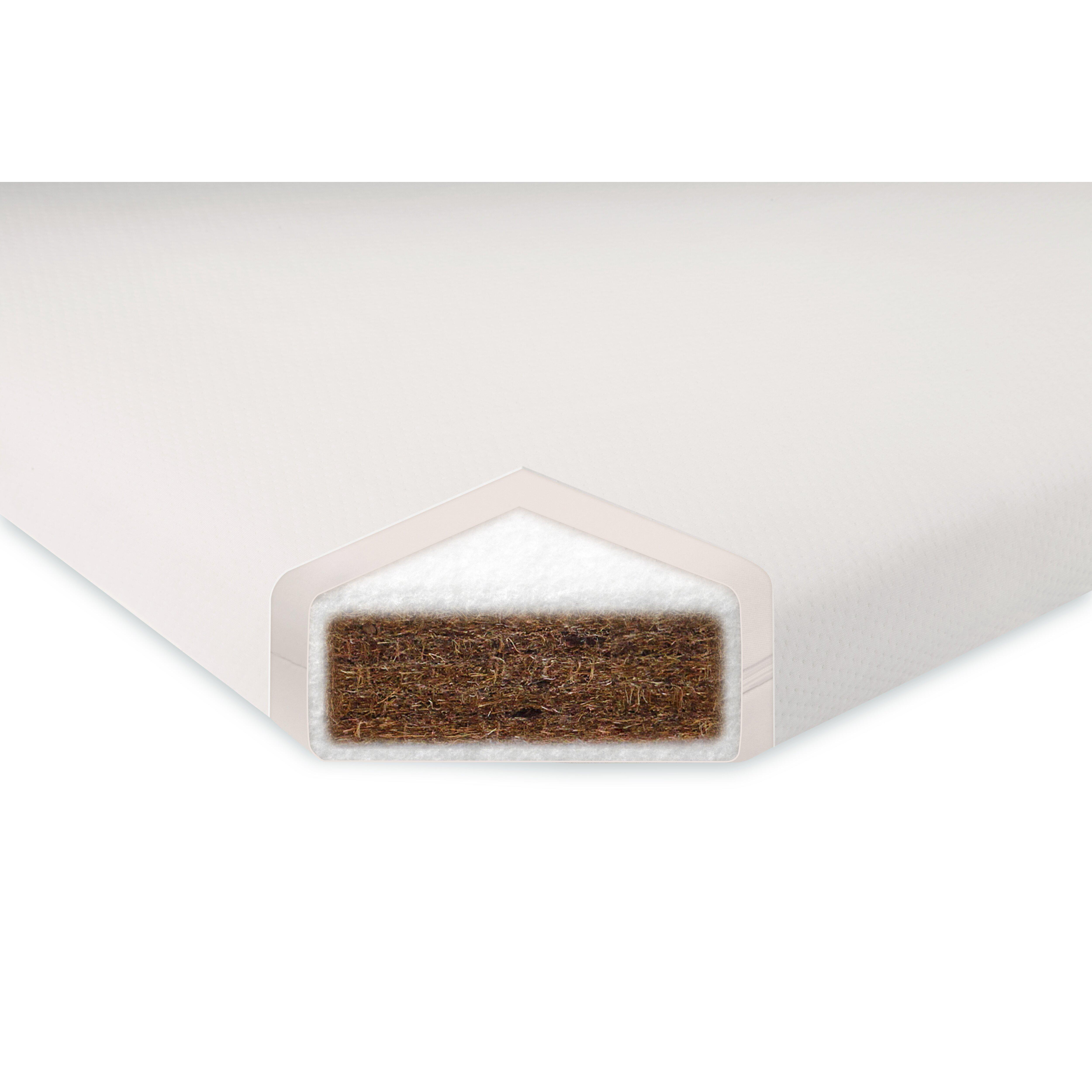 Non Toxic Bedroom Furniture Pure Core 5 Non Toxic Crib Mattress With Smart Cover Reviews