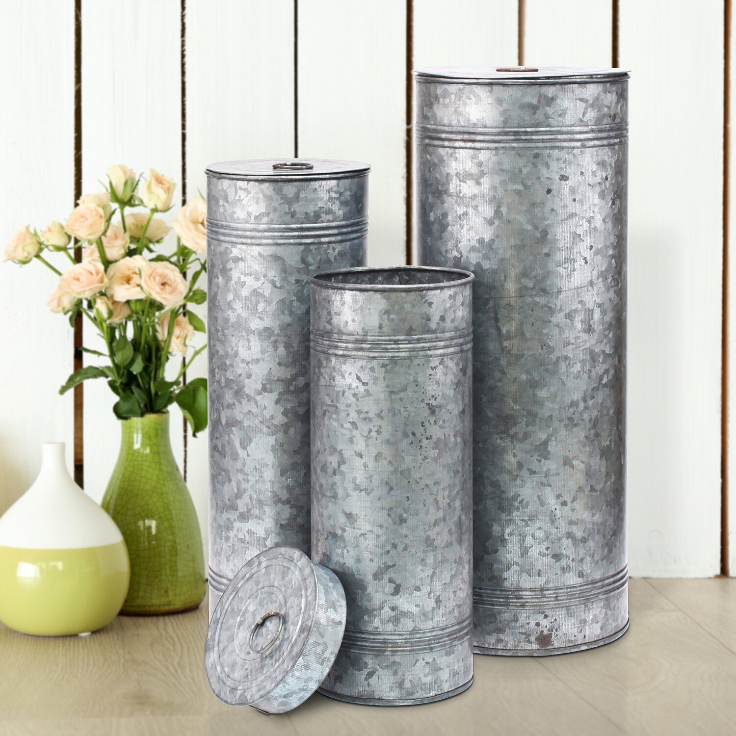 galvanized tin home decor - best home decor