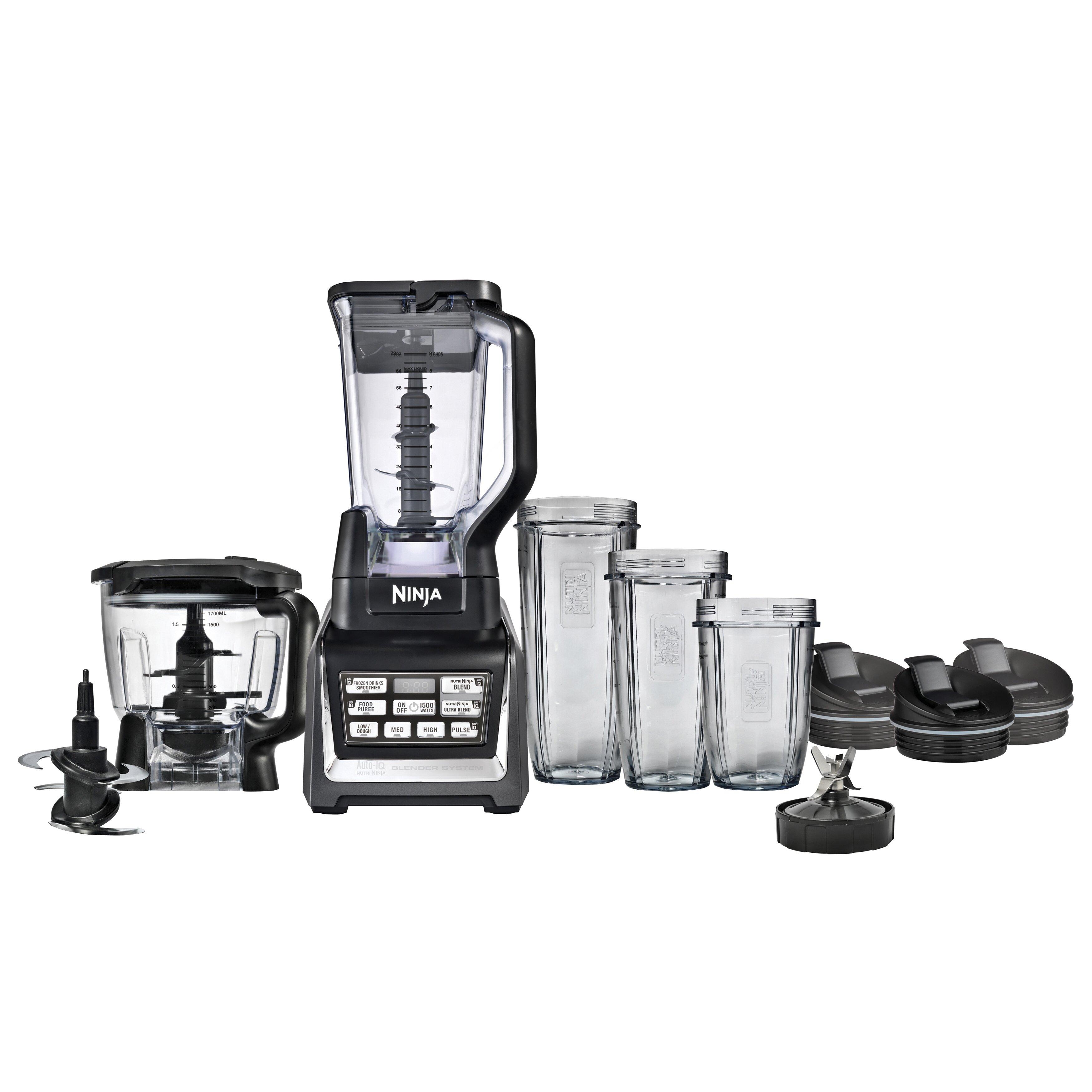 ninja bl700 blender and food processor kitchen system
