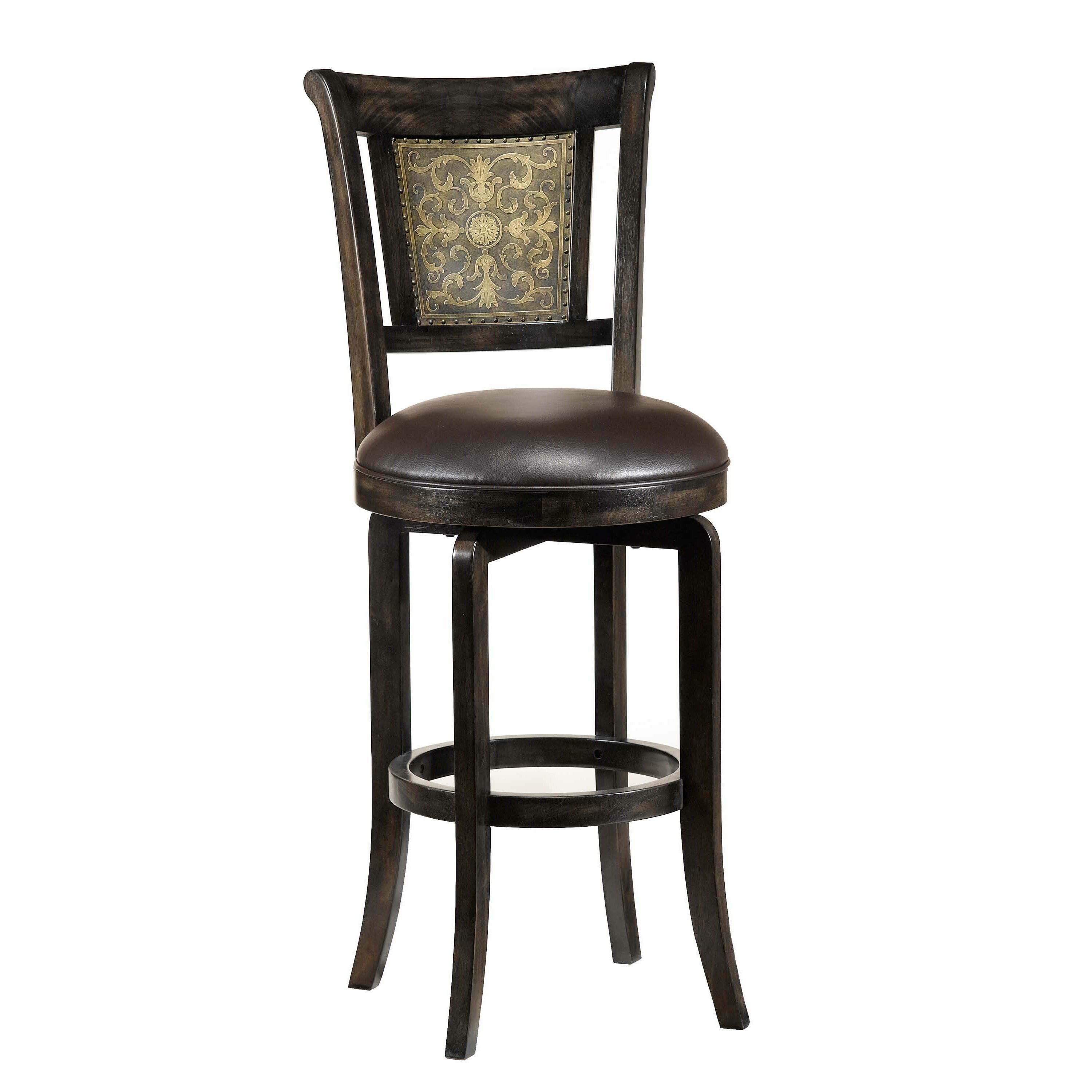 Hillsdale camille 26 5 swivel bar stool reviews wayfair for Furniture 2 day shipping