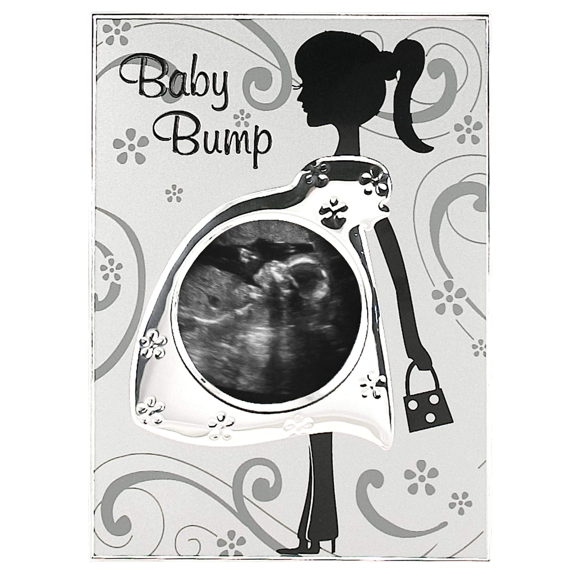 malden baby bump sonogram picture frame