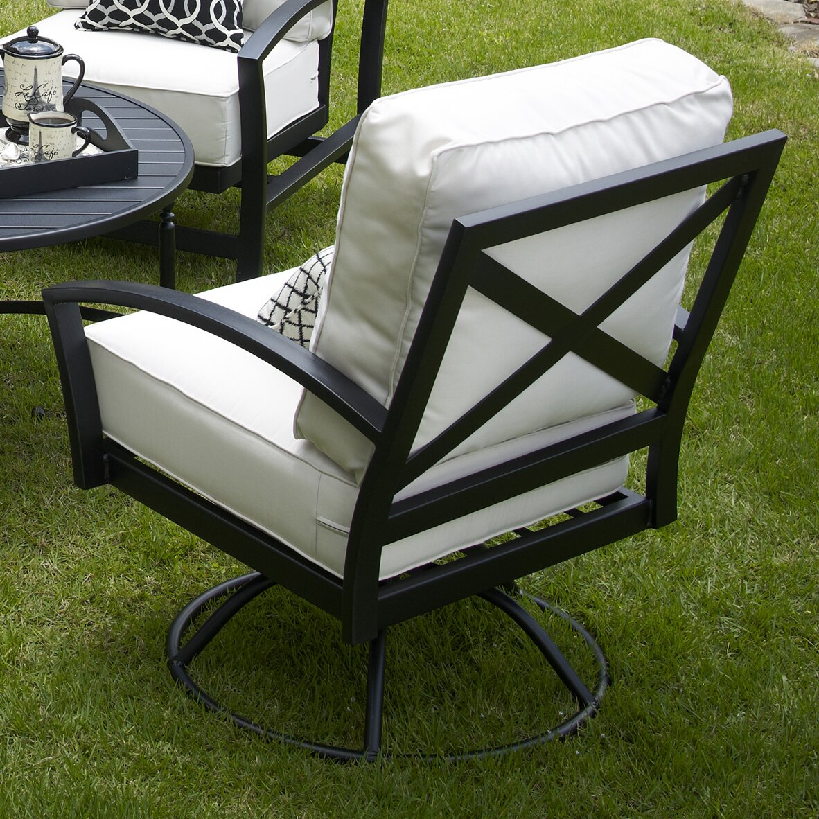Outdoor Patio Furniture ... Patio Rocking Chairs & Gliders Meadowcraft ...