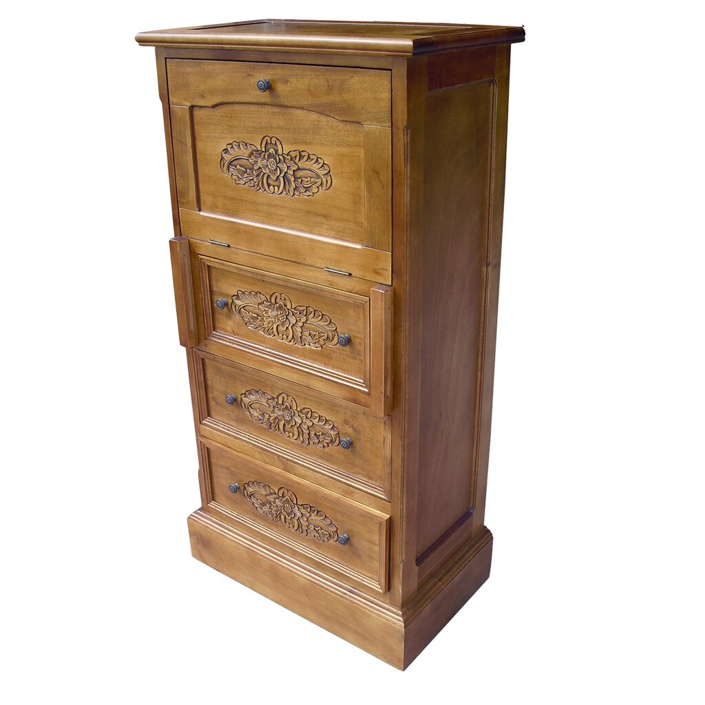 Grand international decor french style 3 drawer chest for International decor uk